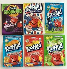 Kool-Aid 6 Drink Mix Rare Expired 6 Flavors Expired Collectible