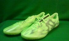 Adidas F10 Mens Indoor Soccer Football Shoe Size 12 New B40709 Neon Green