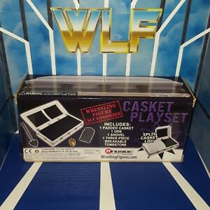 Casket Playset (White) - RSC - Accessories for WWE Wrestling Figures
