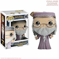 HARRY POTTER - DUMBLEDORE WITH WAND - POP VINYL FIGURE - FUNKO - NEW IN BOX!