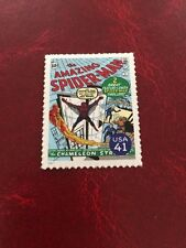 US Stamps Marvel Amazing Spider-Man Cover Collect or Use as Postage