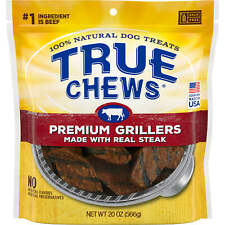 True Chews Premium Grillers Made with Real Steak Natural Dog Treats