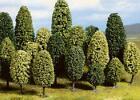 Noch H0 TT / N Z Bäume NEU OVP 10x/5x Laubbaum Nadelbaum Fichte Tanne Baum HOBBY
