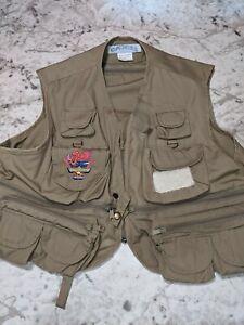 Joe Camel Vtg 1980s Embroidered Joe's Fish & Game Club Fishing Vest