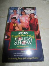 The Snowden Raggedy Ann & Andy Holiday Show Ice Skating Scott Hamilton VHS Movie