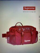 SUPREME MESH WAIST BAG RED SS20 2020