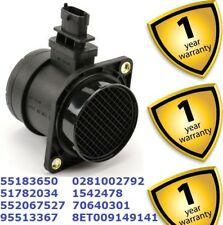 Fiat Bravo Doblo Idea 2001-16 Mass Air Flow Meter MAF Sensor 0281002792 55183650