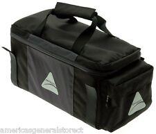Axiom Charlevoix 8L LX TRUNK BAG rear BICYCLE bike sack black single pannier