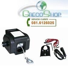 Verricello/Argan/Paranco elettrico 12V 2000 lbs