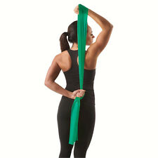 THERA-BAND 5FT INDIVIDUAL LATEX BAND (HEAVY / GREEN) FLAT EXERCISE THERABANDS