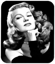 RITA HAYWORTH MOUSE PAD 1/4 IN. MOVIE TV MOUSEPAD RETRO VINTAGE HOLLYWOOD