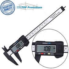 150mm / 6inch Regla de medición LCD calibrador Micrómetro Digital Vernier Pinza
