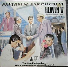 Heaven 17 Penthouse And Pavement Vinyl Australia 1981 Record LP
