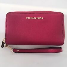 Michael Kors MK Large IPhone Holder Case Wallet Clutch Bag / Purse Genuine