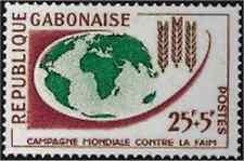 Timbre Gabon 165 ** lot 21962