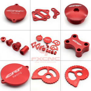 Red CNC Aluminum Motorcycle Kit Engine Personaliza Colver Set For Honda CRF230
