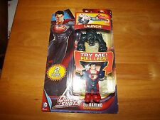 MAN OF STEEL, QUICK SHOTS ULTRAHERO SUPERMAN, NEW IN PACK, 2013