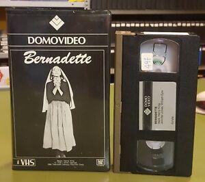 BERNADETTE - VHS - DOMOVIDEO - EX NOLEGGIO