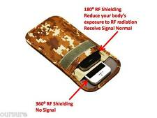 RF / RFID Shieldin Cell Phone Case Handset Bag Porch Canvas Camo Desert 8900206