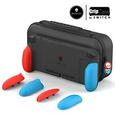 Skull & Co.Protective Case for Nintendo Switch - Neon Red/Blue