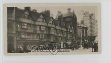 1926 Tobacco Base #32 Old Houses in Holborn Non-Sports Card 0w6
