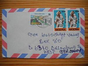 Nigeria Aso-Ofi Traditionelle Kleidung Brief nach Dillenburg