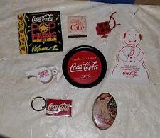 Vintage Coca Cola Ad Items Assorted