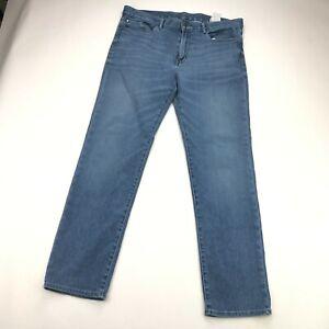 Banana Republc Traveler Mens Slim Straight Light Wash Jeans 34x32