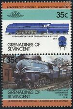 1937 LMS Stanier Coronation Class 4-6-2 Train Stamps / LOCO 100