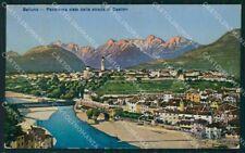 Belluno città Strada di Castion cartolina VK4101