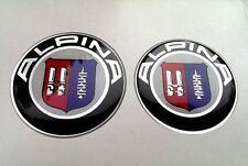 BMW Alpina badges stickers set (82mm+74mm) for BMW E39 E46 E60 E61 E90 E91