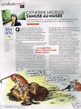 Coupure de Presse Clipping 2012 (1 page) Catherine Meurisse