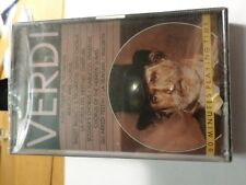 VERDI The Best Of,  CASSETTE - NEW IN ORIGINAL PACKAGE
