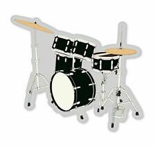 Bass Drum Set Sticker Vinyl Decal 4-1293