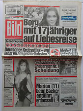 Bild Zeitung vom Mittwoch 15.8.1984, Caroline Hallett, Sylvia Kristel