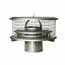"7"" WeatherShield Stainless Steel Chimney Cap  for Air Cooled Chimney Pipe"