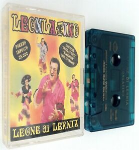 Leone di Lernia Leonlatino mc musicassetta Macarena Porompompero El meneaito