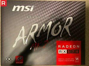 MSI Gaming Radeon RX 570 256-bit 8GB Graphics Card (RX 570 ARMOR MK2 8G OC)