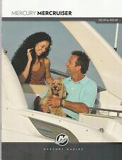 2012 Mercury Mercruiser  Dealer Brochure - 135 HP to 430 HP - Mercury Marine