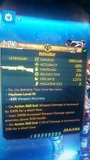 Borderlands 3 - (ps4) Hellwalker x494 (S.J Mods)(Mega 1 Hit Kill)(lvl 60)(M 10)