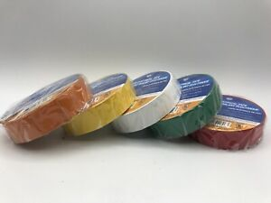 "IPG 4116 3/4"" x 60' All Weather Electrical Marking Tape (LOT OF 5)"