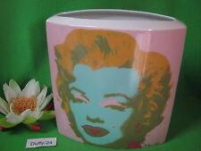 %  Vase 24 cm Marilyn  Monroe  Andy Warhol  von Rosenthal %
