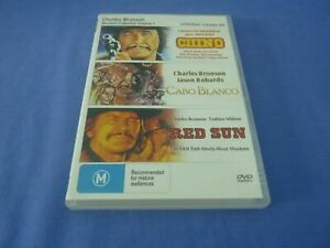 Charles Bronson Western Collection - Chino + Cabo Blanco + Red Sun - All Regions