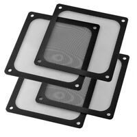 120 / 140 mm Computer PC Kühler Fan Fall Abdeckung Staubfilter Mesh Magnetischer