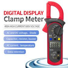 Handheld Lcd Clamp Digital Ammeter Multimeter Acdc Voltmeter Capacitance Tester