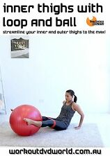 Fit Ball and Band Exercise DVD - Barlates Body Blitz INNER THIGHS Loop and Ball
