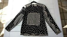 NWT Vintage Louis Feraud 100% Couture Silk Shirt Blouse Size US 6 MSRP $655