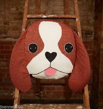 Sass & Belle Dog Vintage/Retro Decorative Cushions