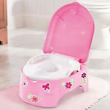 Potty Training Toilet Seat Stepstool Baby Portable Toddler Chair Kids Girl New