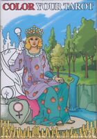 NEW Color Your Tarot Grand Trumps Deck Cards Lo Scarabeo 22 Major Arcana Cards